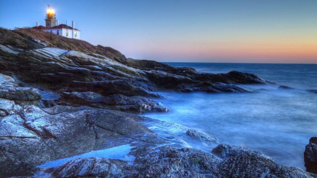 Beavertail Lighthouse near Narragansett