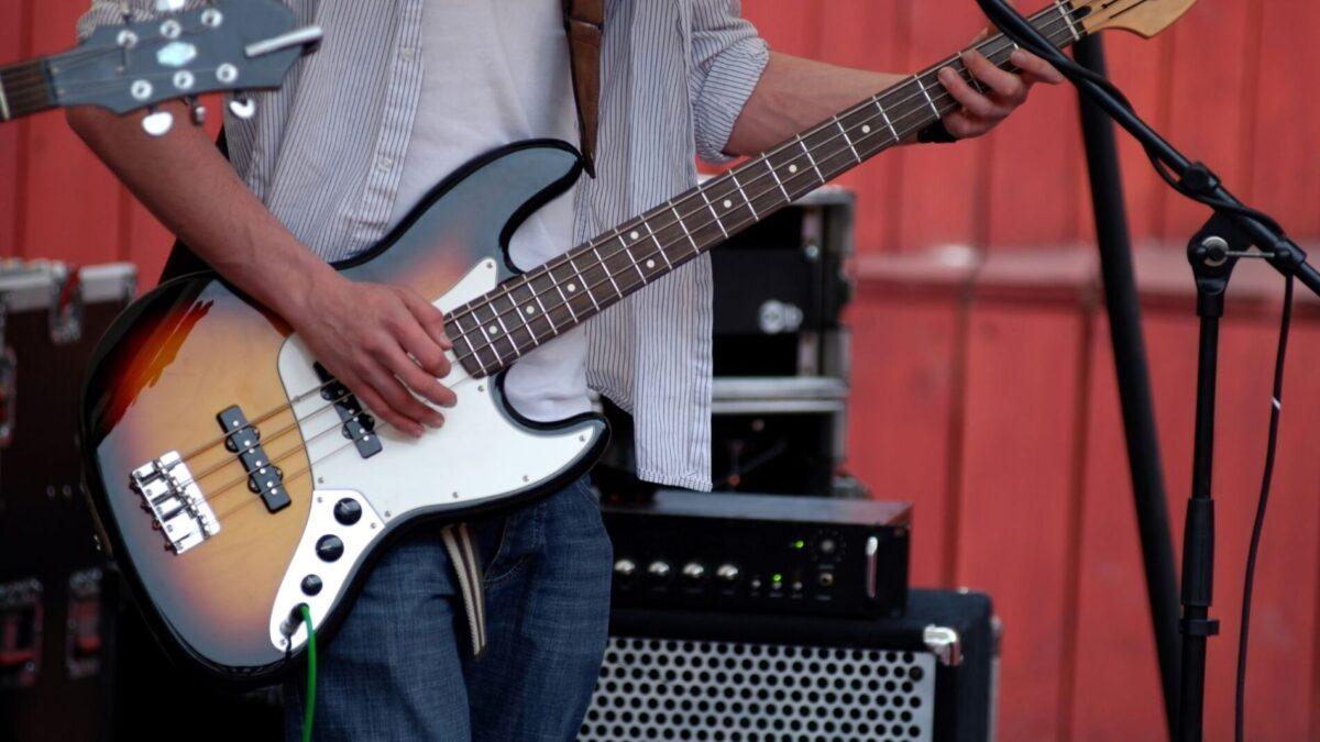 A concert being played near our Narragansett rentals