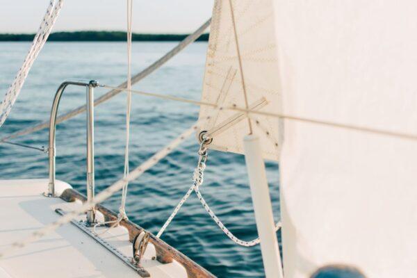 boat on narragansett water